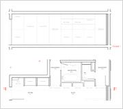 plan coupe de la galerie. Black Bedroom Furniture Sets. Home Design Ideas