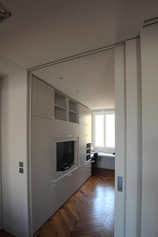 vue bureau. Black Bedroom Furniture Sets. Home Design Ideas