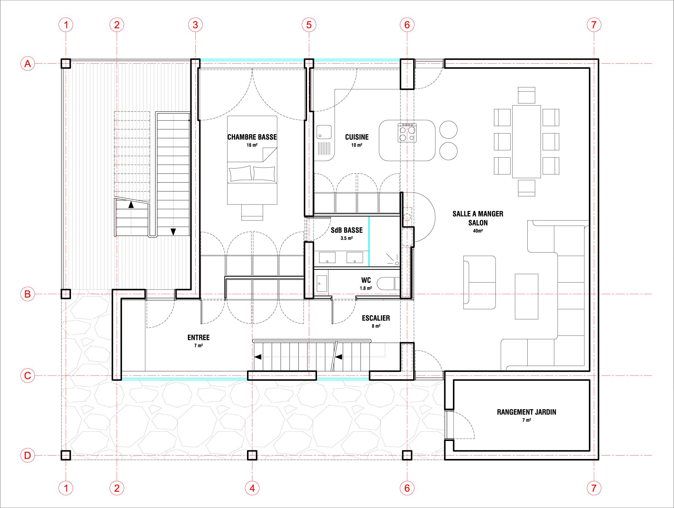 Amazing Plan Niveau Ou Placer Bouche Vmc Cuisine With Vmc Chambre