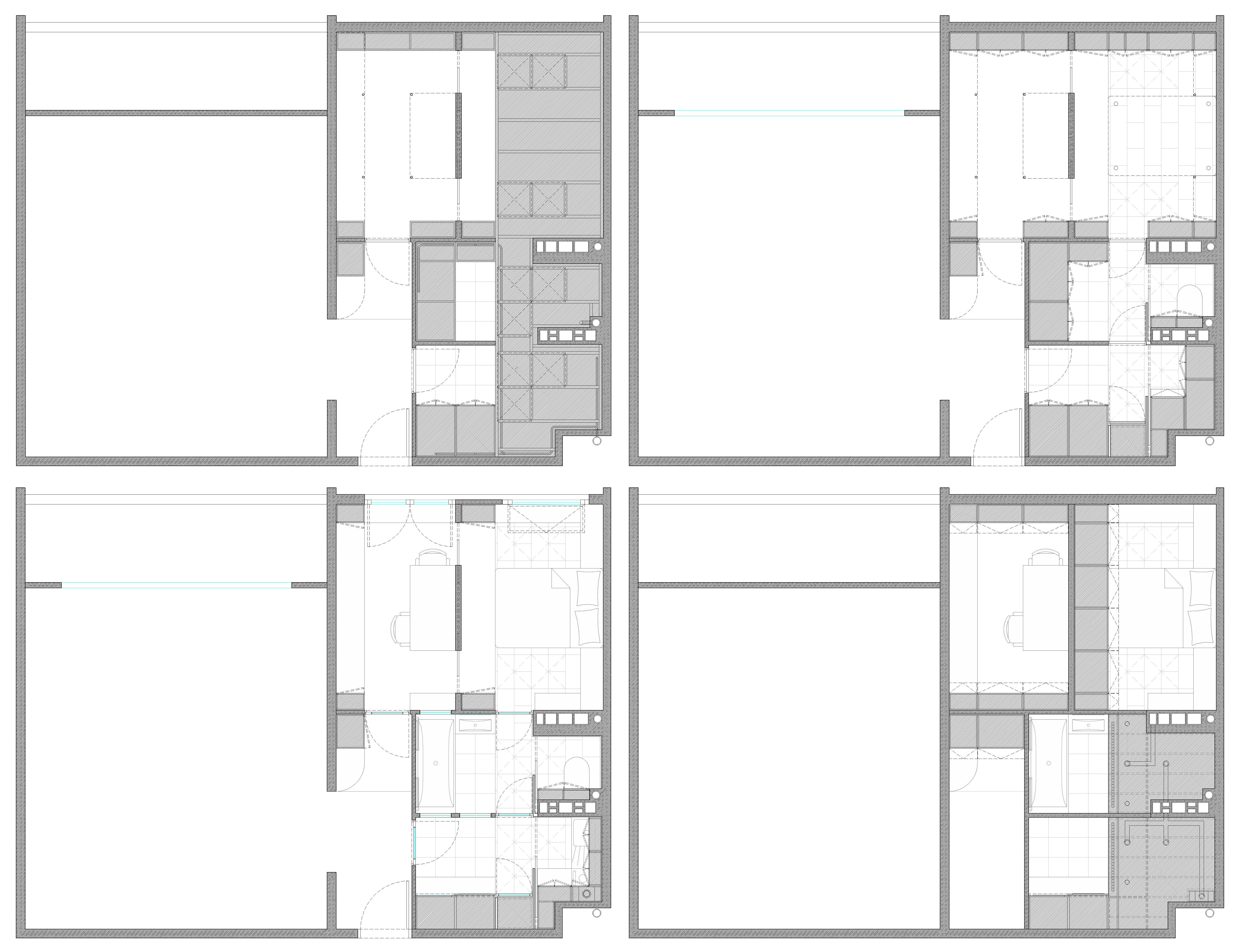 plan appartement mono oriente